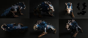 Warcraft: Kul Tiran Feral druid sculpture