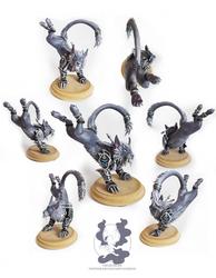 Warcraft: Fangs of Ashamane druid sculpture by owlburger