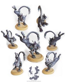 Warcraft: Fangs of Ashamane druid sculpture