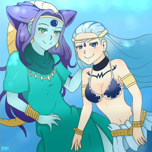 Oceanus Shenron and Aquarius!