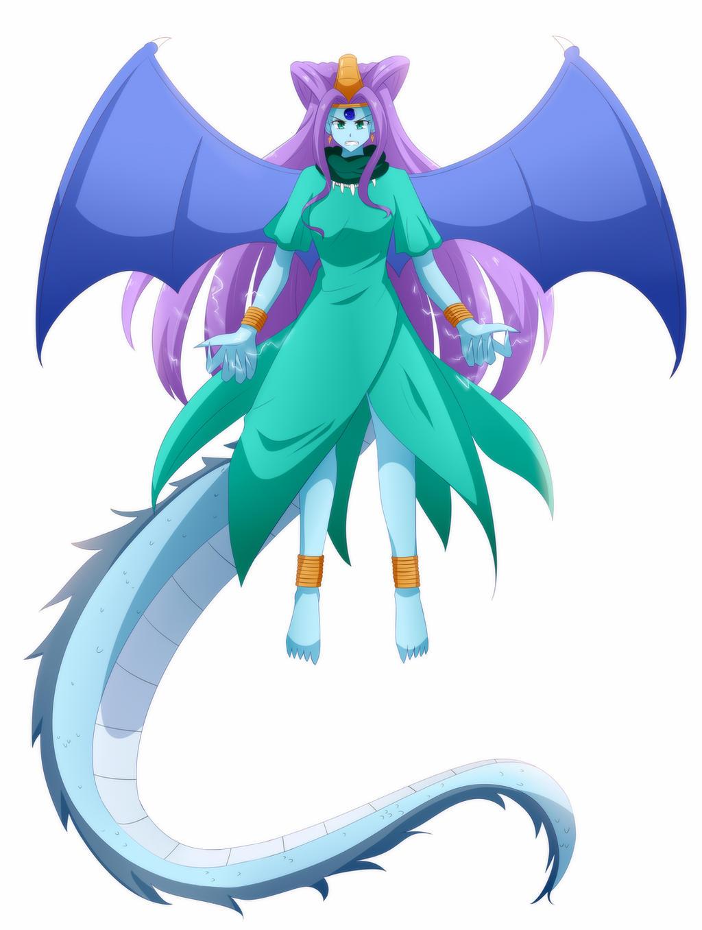 Oceanus Shenron (True Shadow Dragon Form) by WielderOfBlueFlames ...