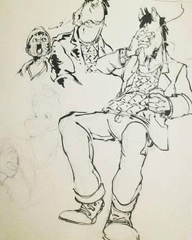 Bojack Doodles