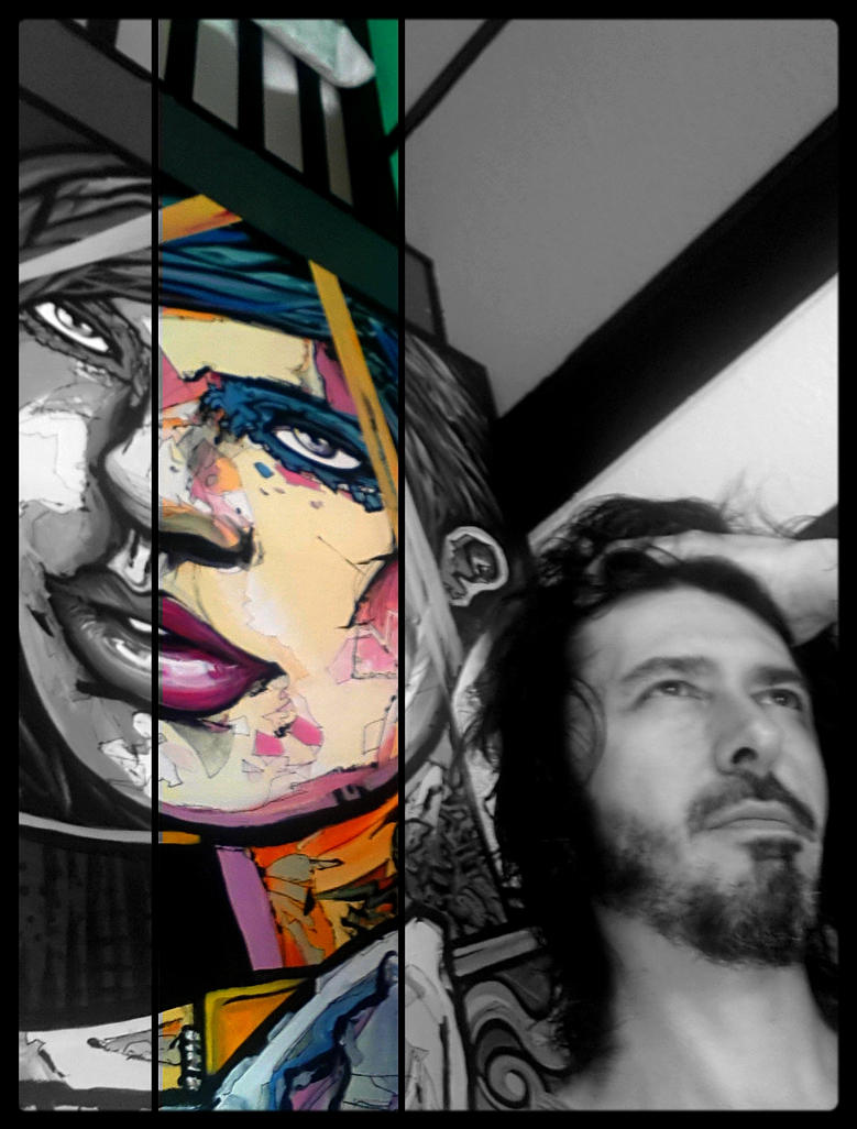 SOON MY NEW VERY LARGE PAINTING... by DANNY-DED