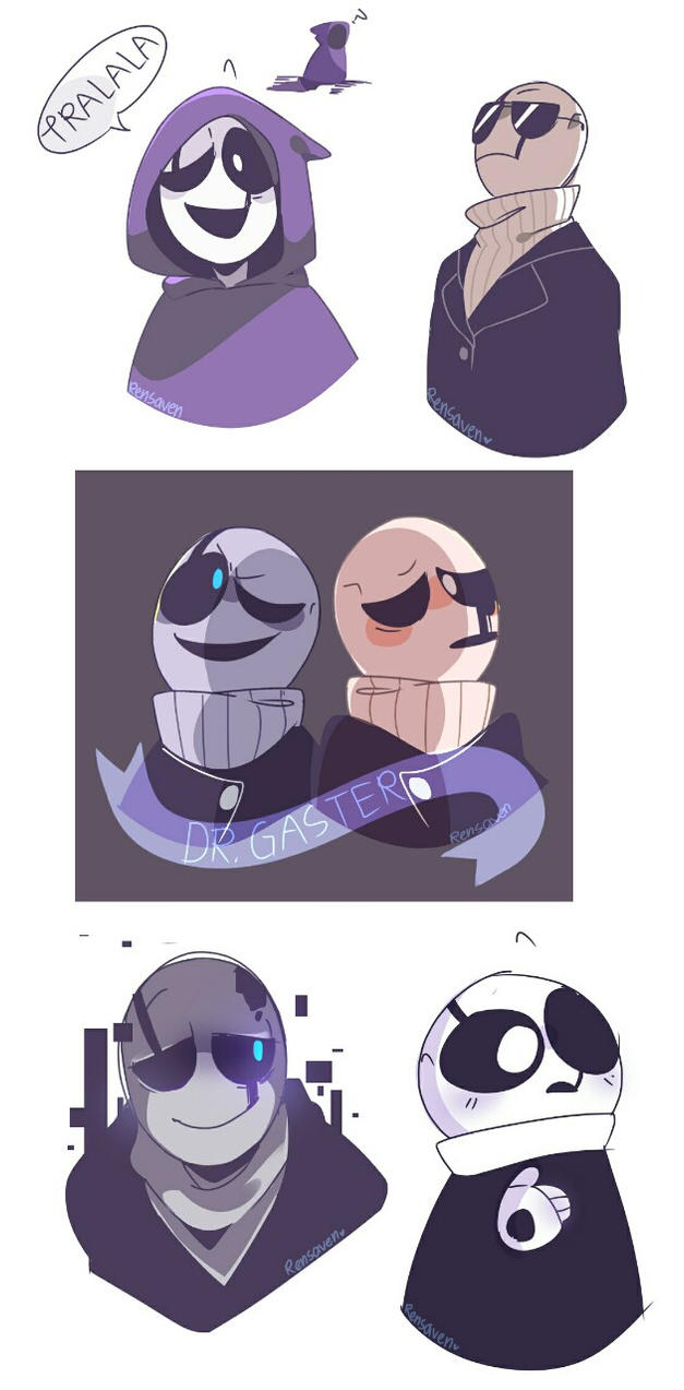 Dr Gaster by Rensaven
