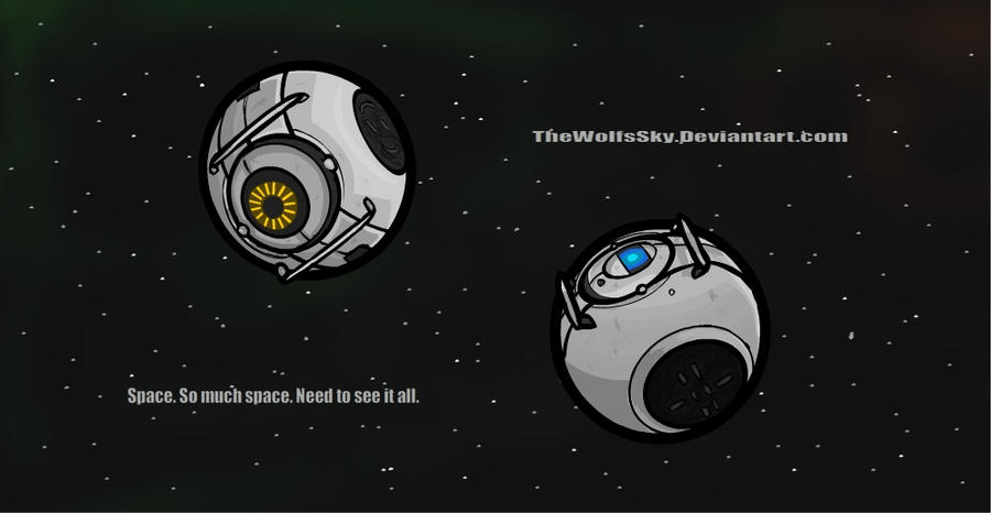 Space portal 2 spoilers by nekurosilver on deviantart for 3 portals