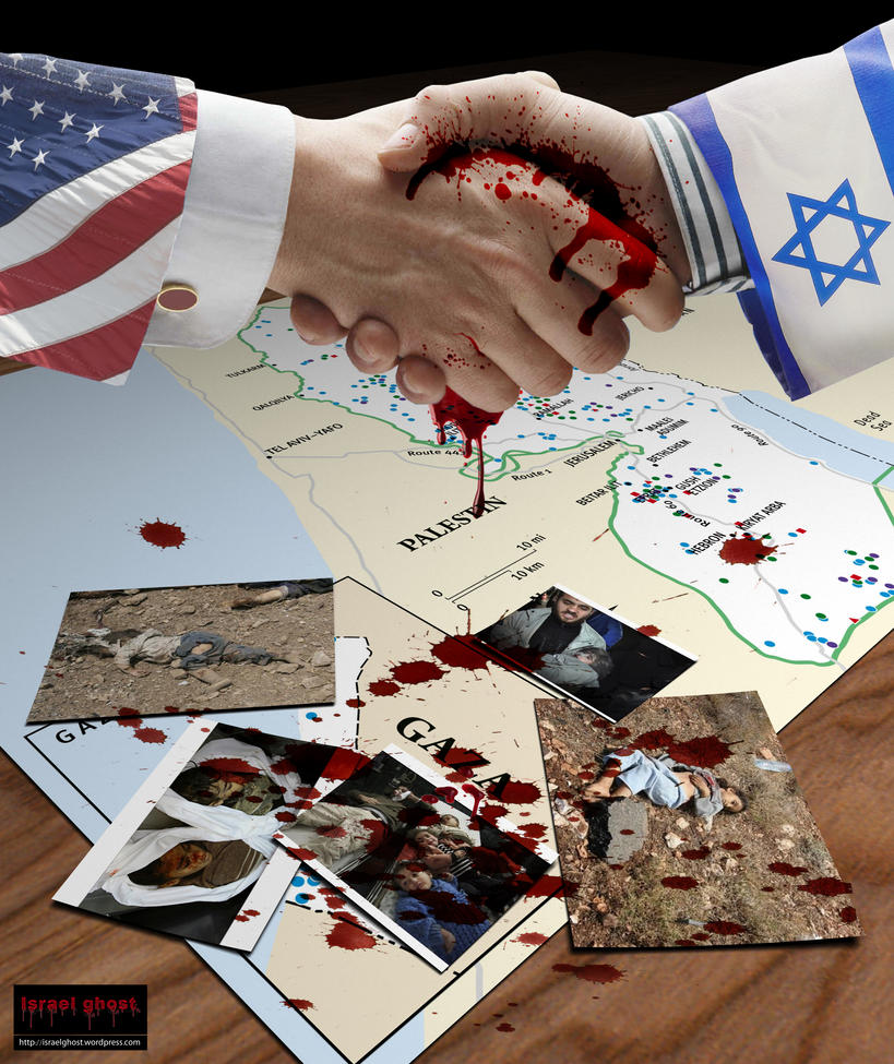 GAZA POSTER by isfahangraphic