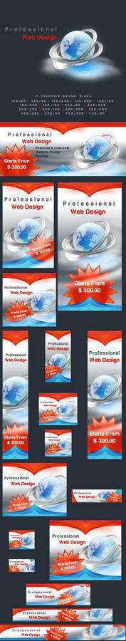 Free Web Design Banner Ads
