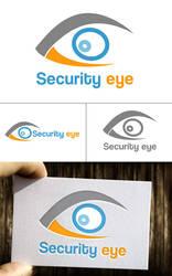 Free Security eye logo