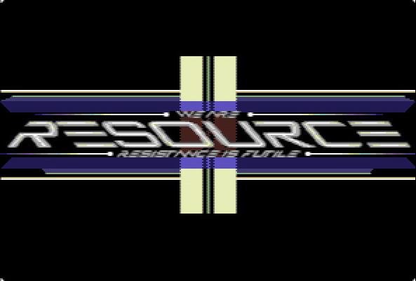 [8bit] ReSourCe Logo by MaestroAmN
