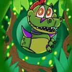 Montgomery Gator (fnaf sb fanart)
