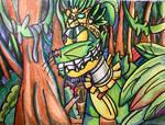 Aztec Springtrap (Fnaf ar)