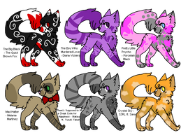 Song themed cat adopts (OPEN)