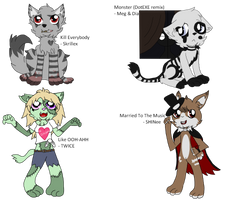 Halloween Song Themed Adopts (Open)