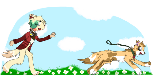 Catch that Dog! by Wolfypoof
