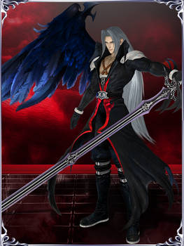 Dissidia NT - Sephiroth (One Winged Angel)
