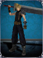 Dissidia NT - Cloud Strife (Soldier 1st Class) by KylieStylish