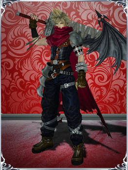 Dissidia NT - Cloud (KH Outfit)