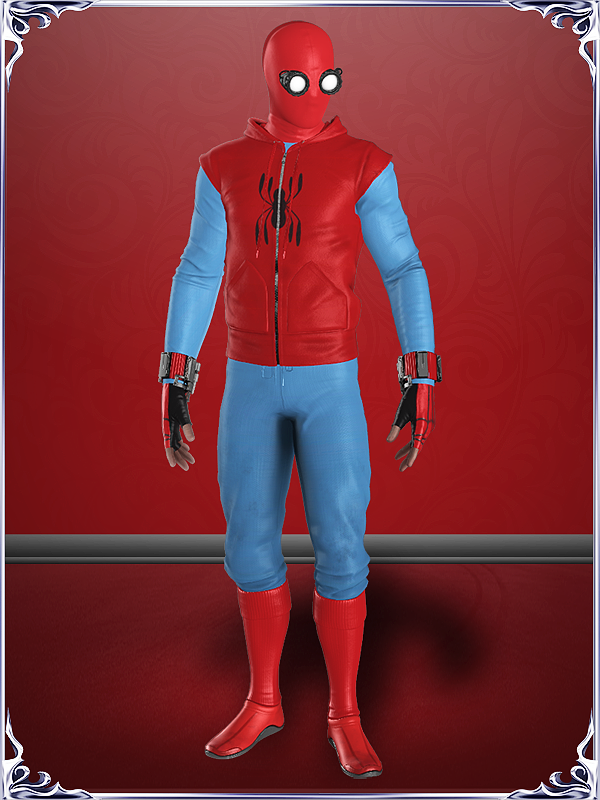 Spiderman PS4 - Homemade Suit by KylieStylish