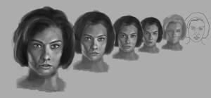 Portraits (Maggie WIP)