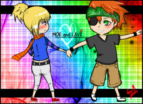 Request: Moe and Lavi