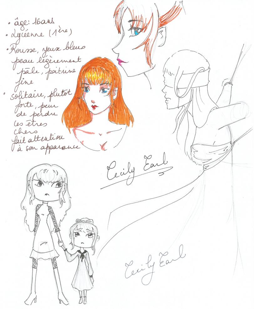 Cecily Earl - Study work by YERDUA