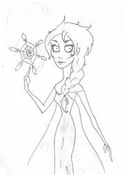 Tim Burton Style: Elsa