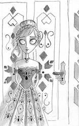 Tim Burton Style: Anna