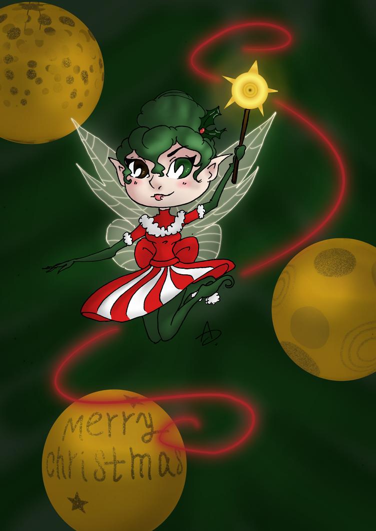Christmas Fae by YERDUA