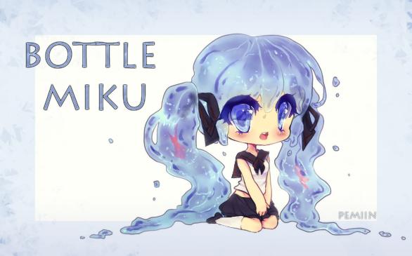 Bottle Miku by Pemiin