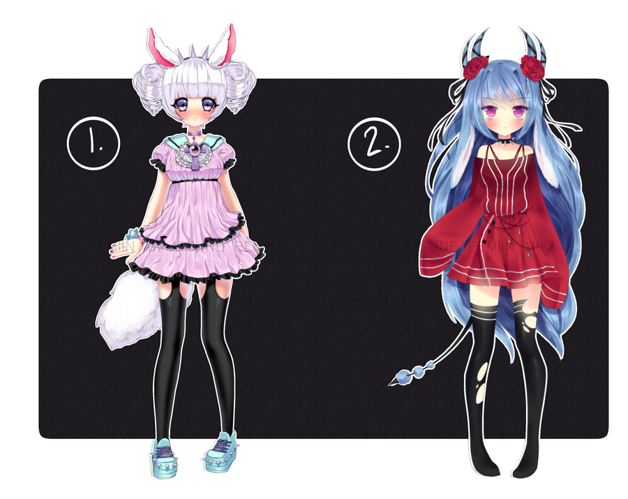 Collab bunny adoptables auction [CLOSED] by Pemiin