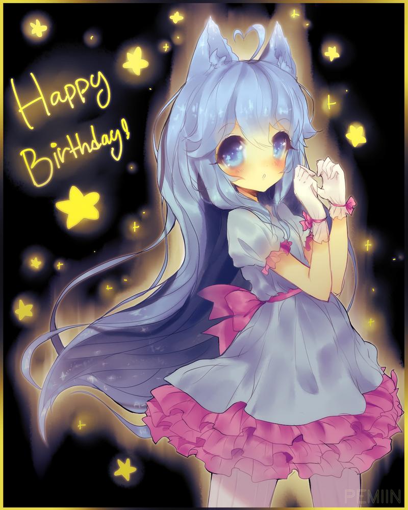 Happy Birthday Aruu! by Pemiin