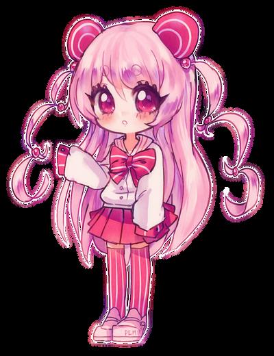 Pink Panda By Pemiin