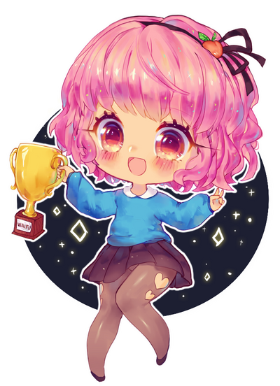 trophy waifu by pemiin on deviantart