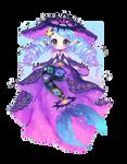Space Mermaid | Fairy Vial