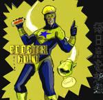 Booster Gold by jikanganai