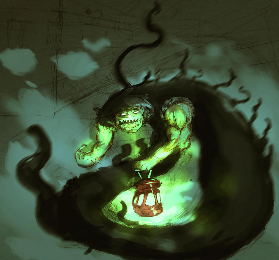 Shadow Demon By Jikanganai On DeviantArt