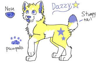 Dazzy Dog Ref by EPICNESSwolf