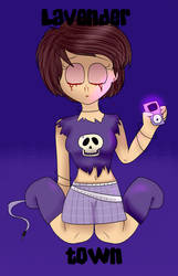Lavender Town by knuclesfan4556