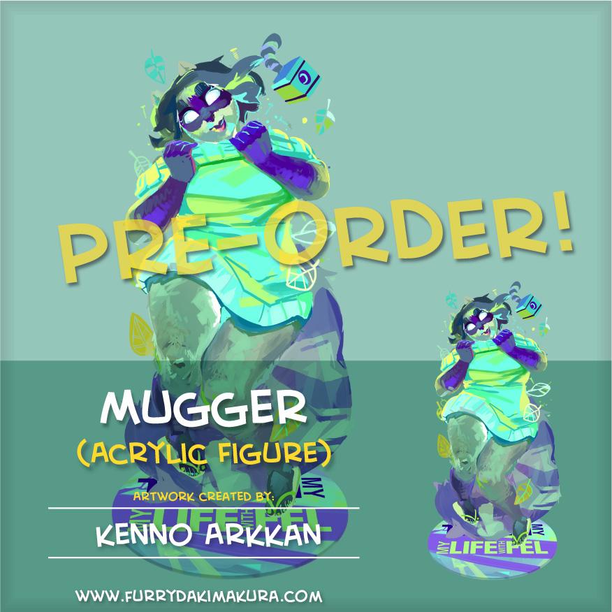 FD Figure Mugger Preorder by furrydakimakura
