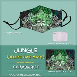 Jungle Face Mask by Chumbasket