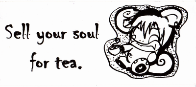 Obey the Tea Monkey [Sticker] by infidel-absence