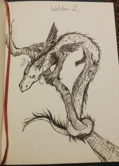 Small Forest Dragon by infidel-absence