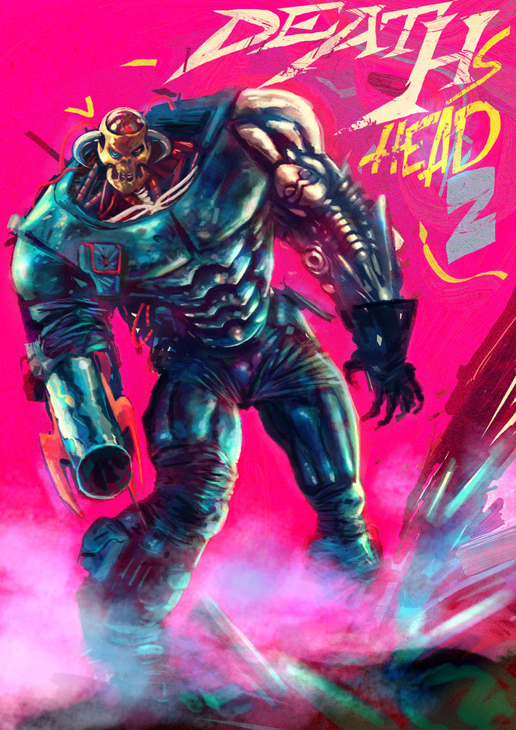 Deaths Head II by RalphNiese