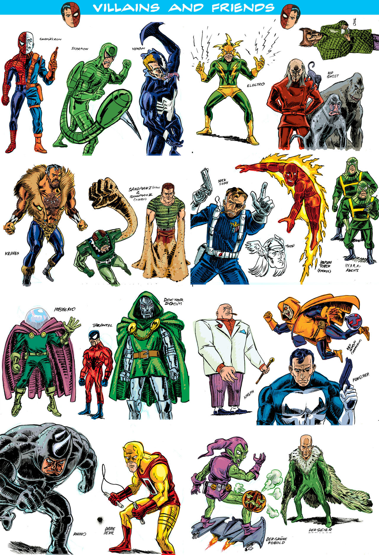 Spiderman villains - photo#11