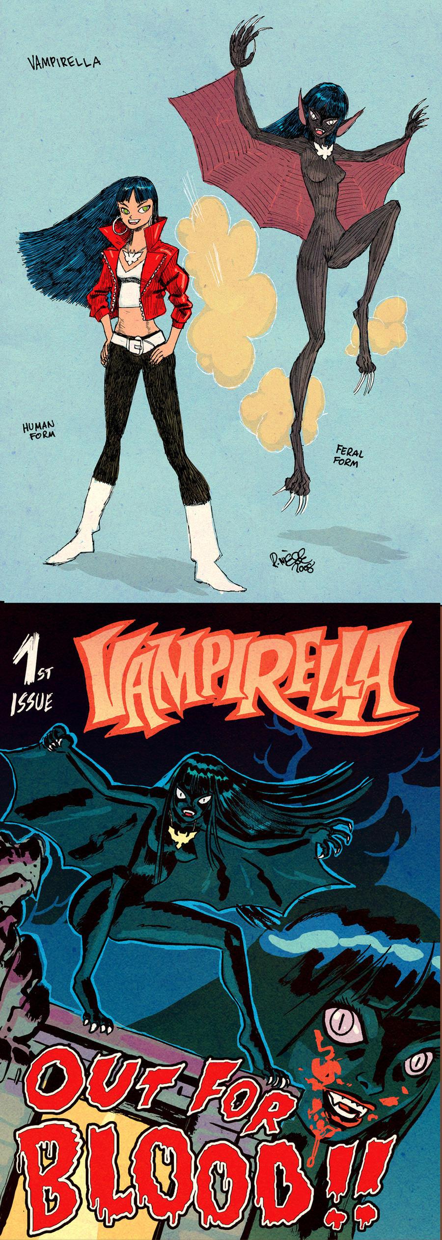 Vampirella ReVamp by RalphNiese