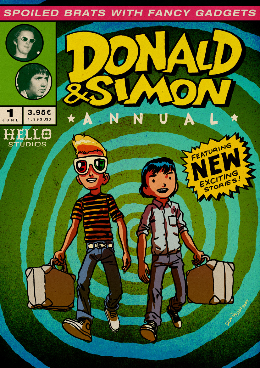 DONALD and SIMON newie by RalphNiese