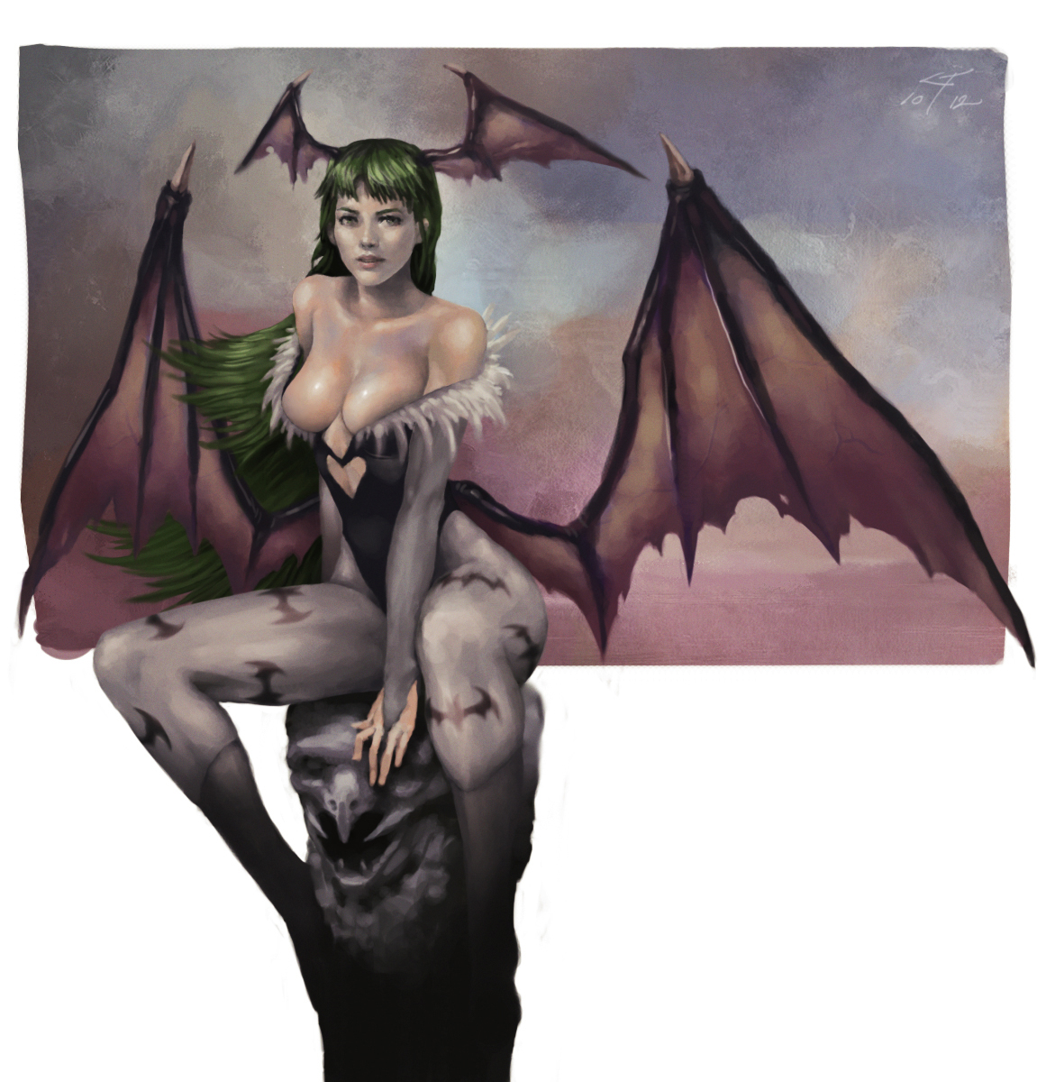 Morrigan by tranmonster