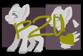 [P2U] Lineless pony base