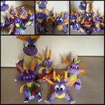 My Spyro The Dragon Plush Toy Collection!