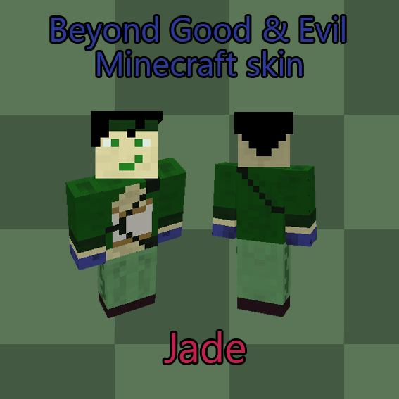 Good Stories Belong On Skin: Jade Beyond Good And Evil Minecraft Skin Preview By